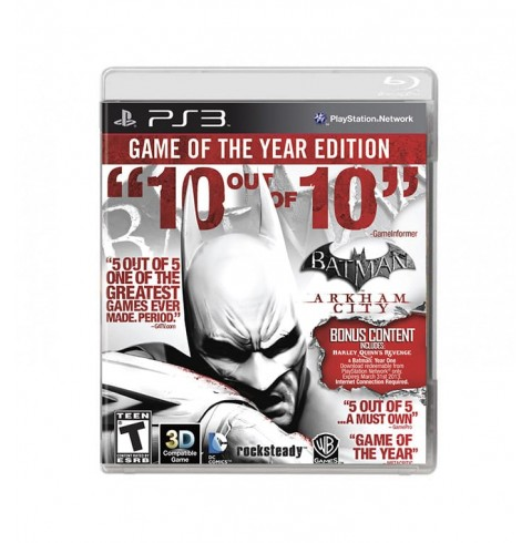 Batman: Arkham City (GOTY Edition) RU